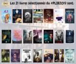21 sélectionnés PLIB2019 couvertures